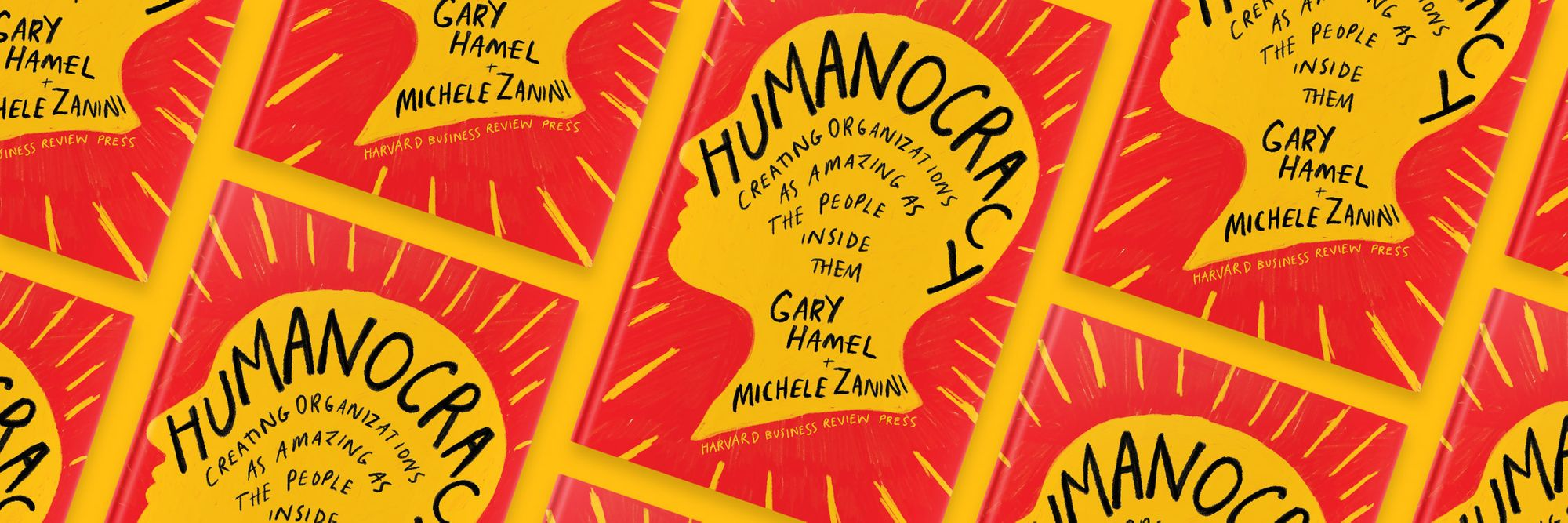 Introducing my new book, Humanocracy
